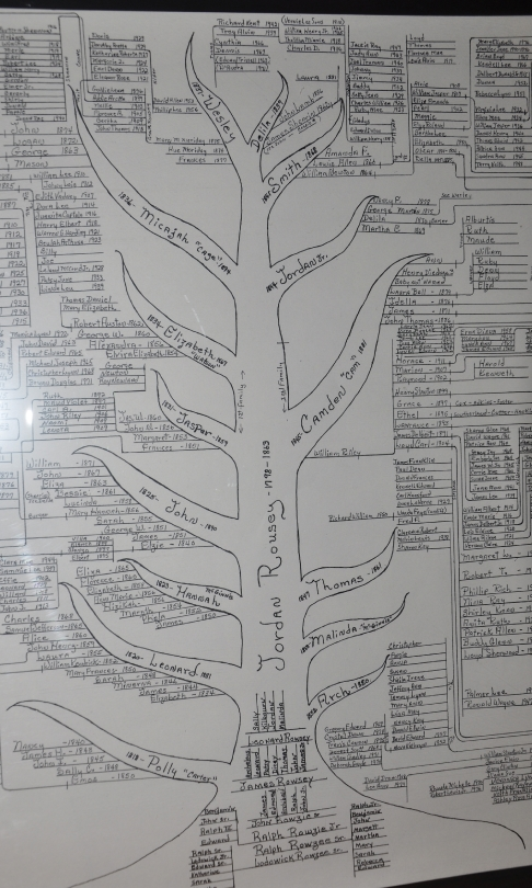 Central Trunk of Family Tree